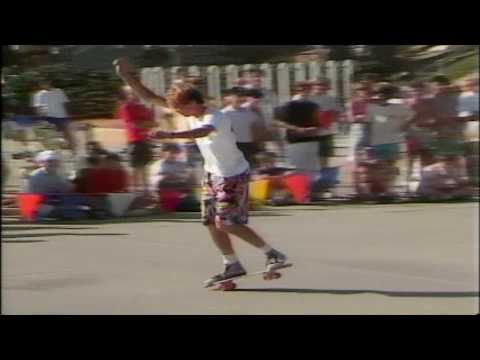 Kevin Harris - Freestyle Contest Oceanside 1986
