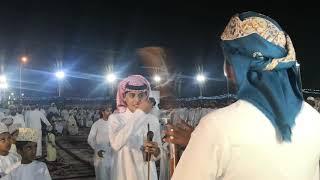 مشاركة المنشد محمد بن غرمان في حفل (عقد قرآن) الفاضل عبدالحميد سالم الدوحاني
