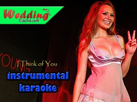 I think of you -  tata young ( karaoke / instrumental )