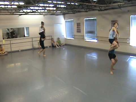 Ad Deum Dance rehearsing Wonderous Beasts