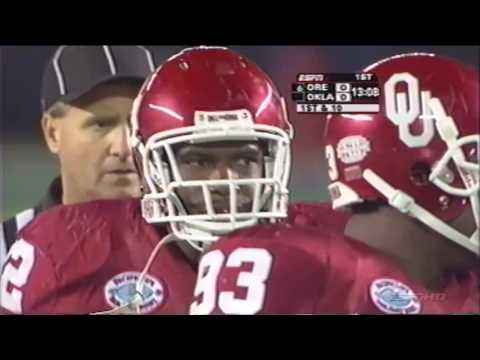 2005 Oregon vs Oklahoma - Holiday Bowl