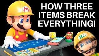 How Combining Three Random Items Break Super Mario Maker 2 (ft. Mayro)