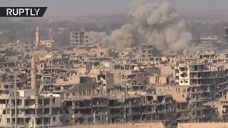 Battle for Deir er-Zor: SAA fighting ISIS in its last major stronghold thumbnail