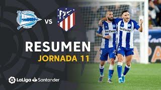 Resumen de Deportivo Alavés vs Atlético de Madrid (1-1)
