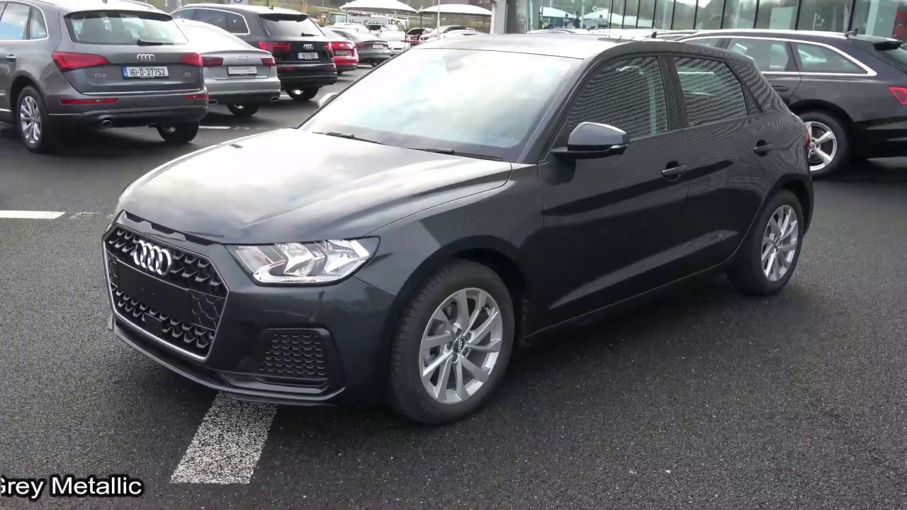 Cmg Audi Sligo New 2019 Audi A1 Sportback 1 0tsfi Se 116bhp Manual Manhatten Grey Metallic