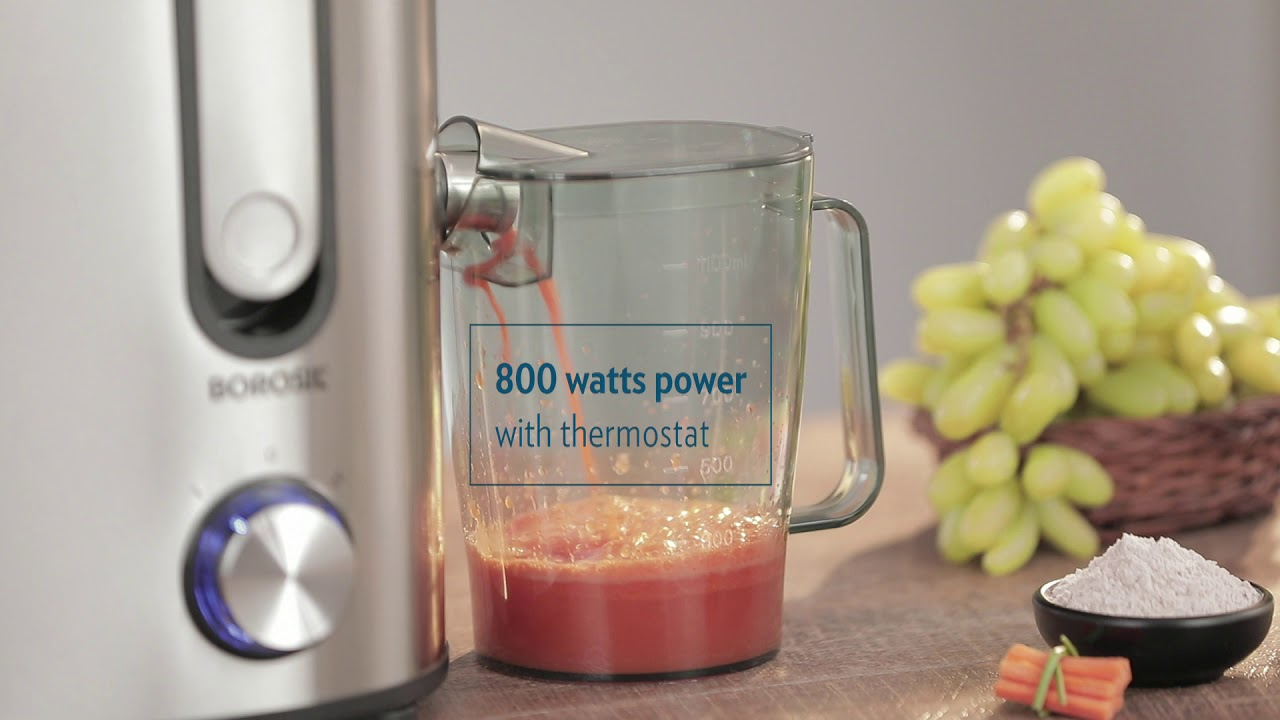 Borosil Primus Juicer 800W by Borosil & You