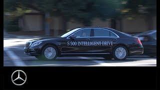 Der S 500 INTELLIGENT DRIVE in Kalifornien.