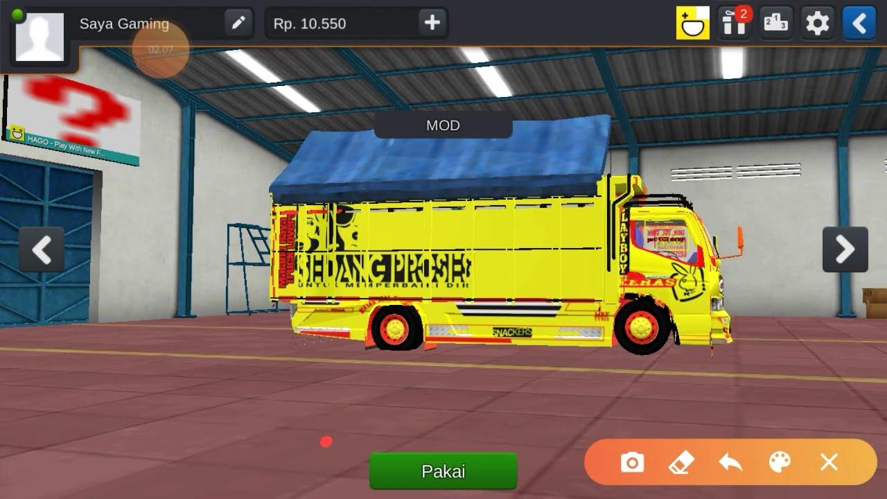 Cara Bus Simulator Jadi Truck Youtube