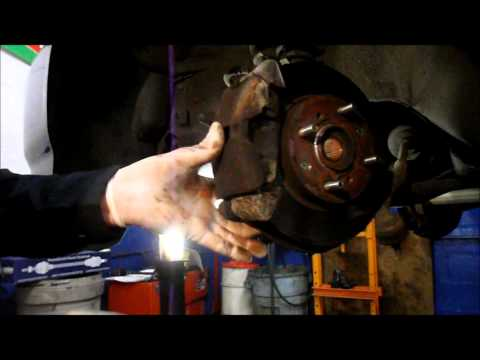 How To Replaced A Front Wheel Drive Axle On A 1997 Honda Civic/Accord