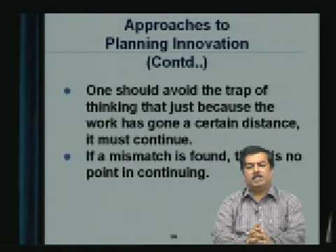 Lecture - 37 Managing Creativity and Innovation