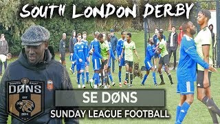 SE DONS vs VISTA | LONDON CUP ROUND 2 | 'WE SOLD A CAT' Sunday League Football
