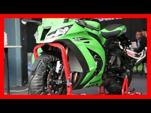 Kawasaki Ninja ZX-10R 2011 - Test Rennstrecke - Sound - Action