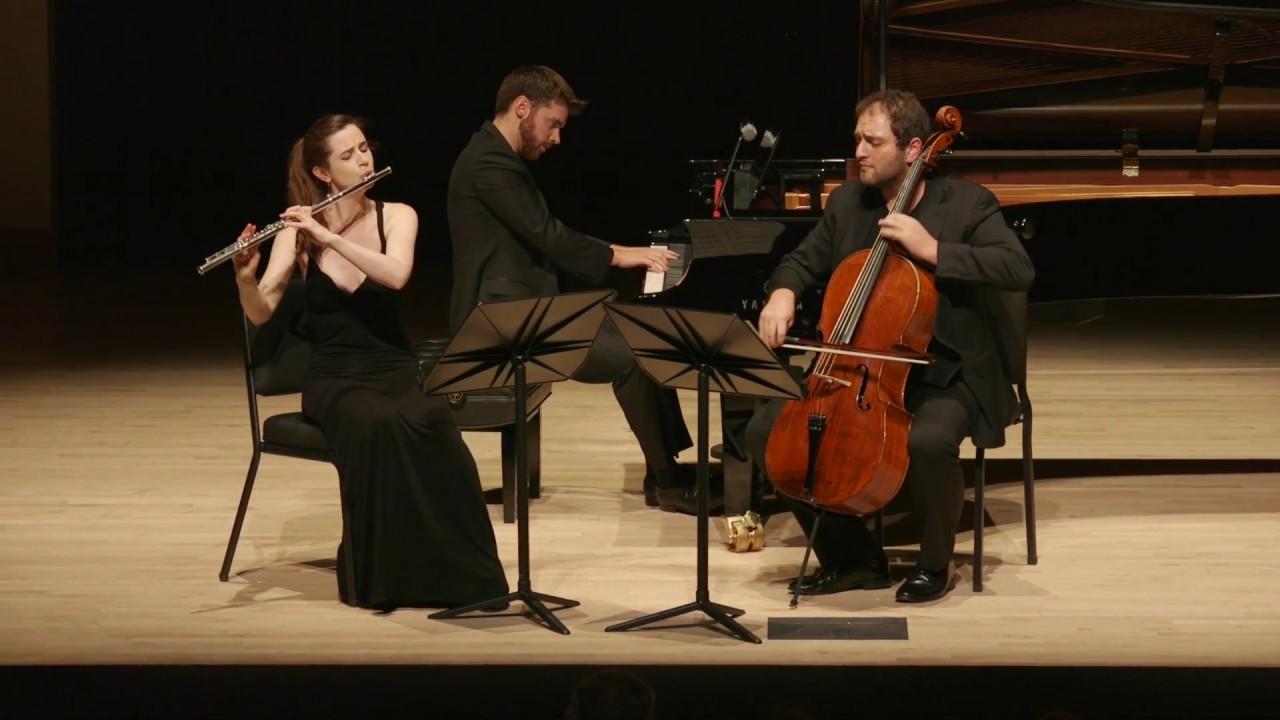 Weber, Flute Trio in G minor, Op 63, Emi Ferguson, Julian Schwarz, Peter Dugan
