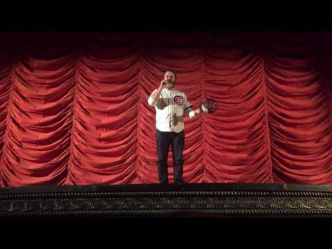 Nick Offerman's Introduction to Highlander at The Music Box Theater in Chicago, IL