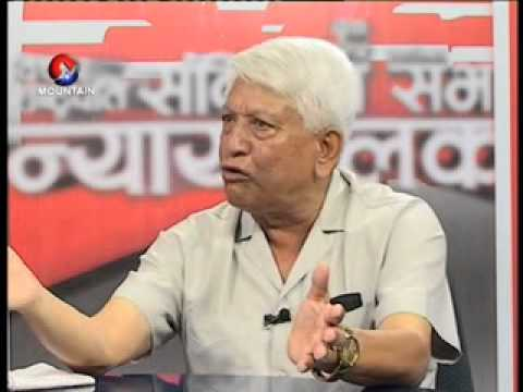 Interview with NC ledar Arjunnarsing KC By DP Upadhyay