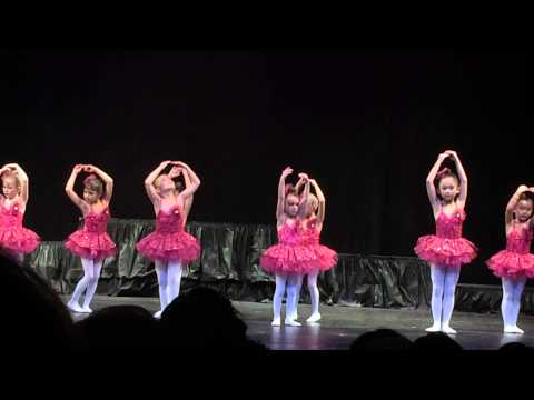 Amelia Dance Recital Fall 2014 - 5 years old Ballet