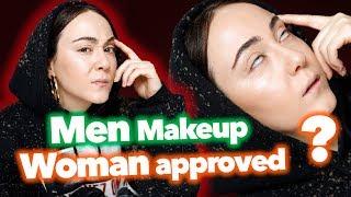 Ist MÄNNER Makeup auch etwas für Frauen 😛 Men Makeup Review 🕵🏻♂️ First Impression Hatice Schmidt