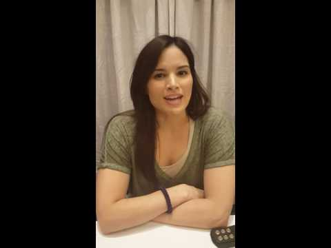 Exclusive  with actress Katrina Law