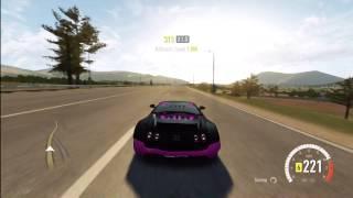 Bugatti Super Sports 241 MPH hitting car off the road