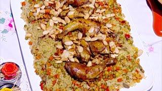 أرز بالخضار والكاري - بنان غرايبة