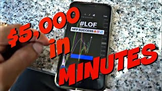 📈 Trade Forex (NFP) LIVE with me: $5,000 in 2 minutes (TRADE NFP WITH SKILLZ!)