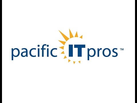 Pacific It Professionals User Group January 2016 Meeting