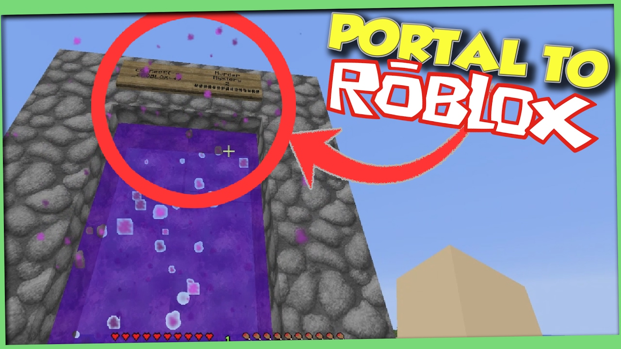 how to make a portal minecraft