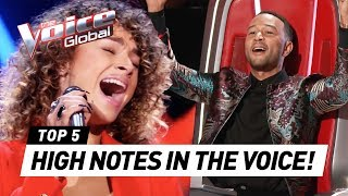 Download OUTSTANDING HIGH NOTES in The Voice Mp3 and Videos
