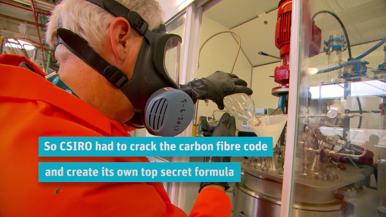CSIRO: Developing higher-quality, higher-strength, lower-cost carbon fibers