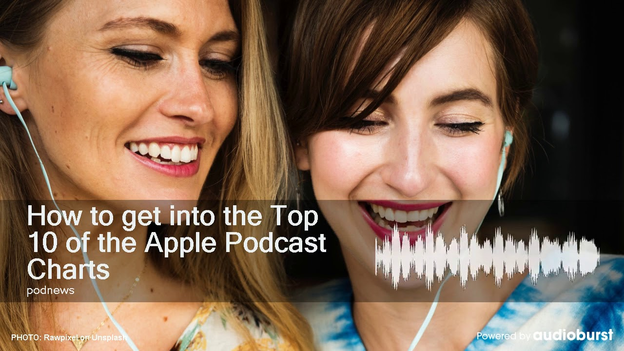 How to get into the Top 10 of the Apple Podcast Charts - YouTube