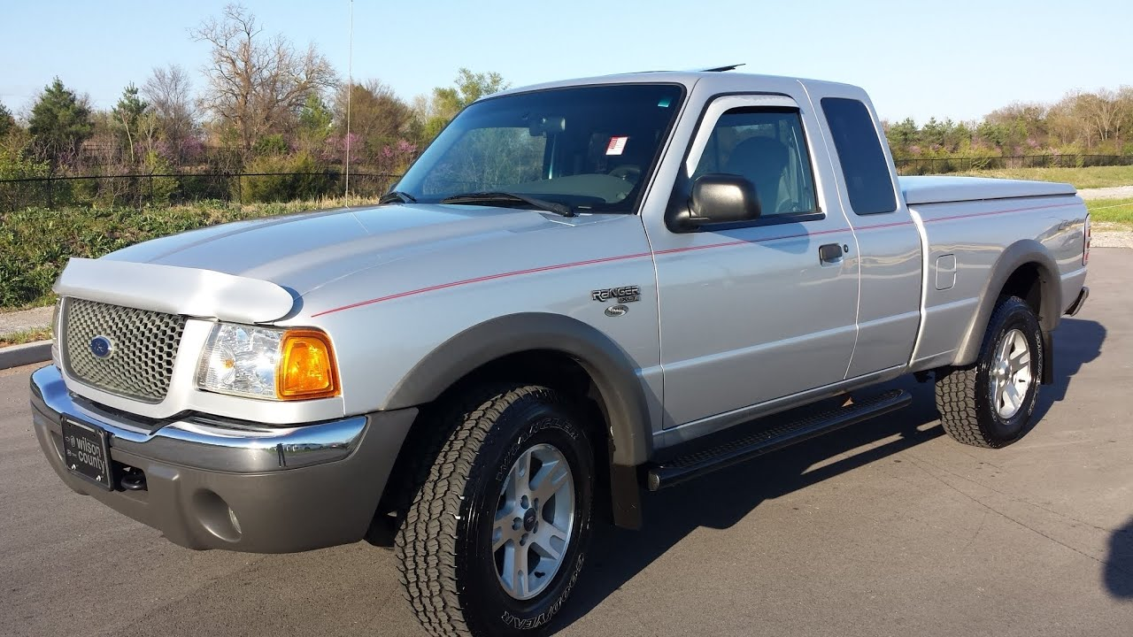 Sold 2002 ford ranger 4dr supercab xlt 4x4 48k auto leather 4 sale call 855 507 8520