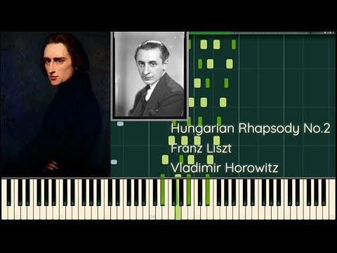 Hungarian Rhapsody S.244 No.2 Lento A Capriccio - Franz Liszt / Vladimir Horowitz
