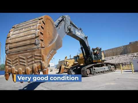 John Deere 870G LC Excavator For Sale