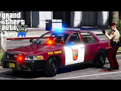 GTA 5 LSPDFR Police Mod 451 | Minnesota State Patrol | Shots Fired In The City