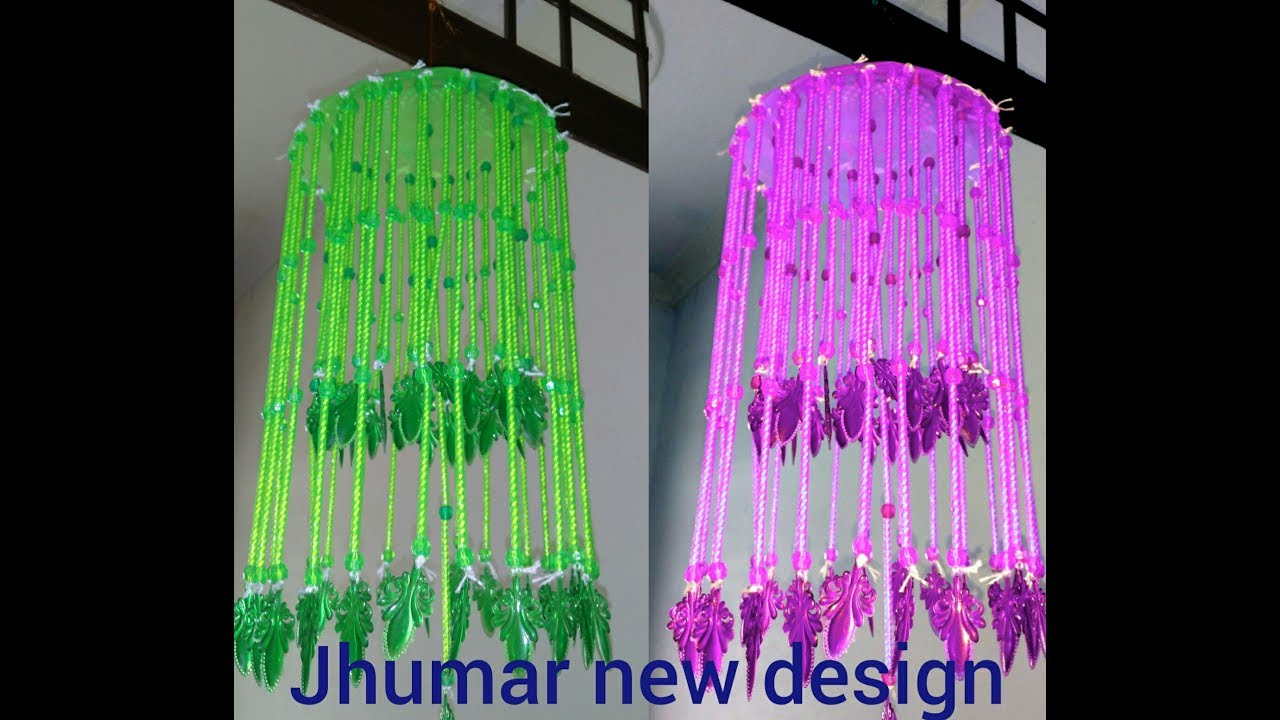 How To Make ..new Design Jhumar.. At Home Very Simple Design