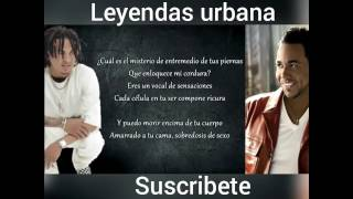 Romeo Santos ft Ozuna sobredosis  letra / lyrics