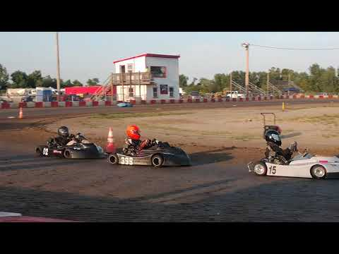 9.7.2019 - KC Raceway - Predator Class - Heat 1