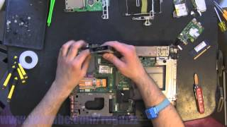 COMPAQ 6530B take apart video, disassemble, howto open (nothing left) disassembly disassembly