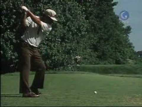 Lee Trevino driver steps golf swing