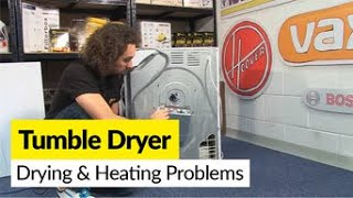 How to Diagnose Tumble Dryer Drying and Heating Problems