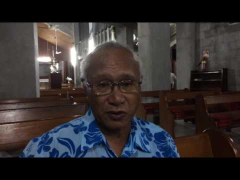 Archbishop Winston Halapua -  International Consultation -  Fiji -  7 July 2016