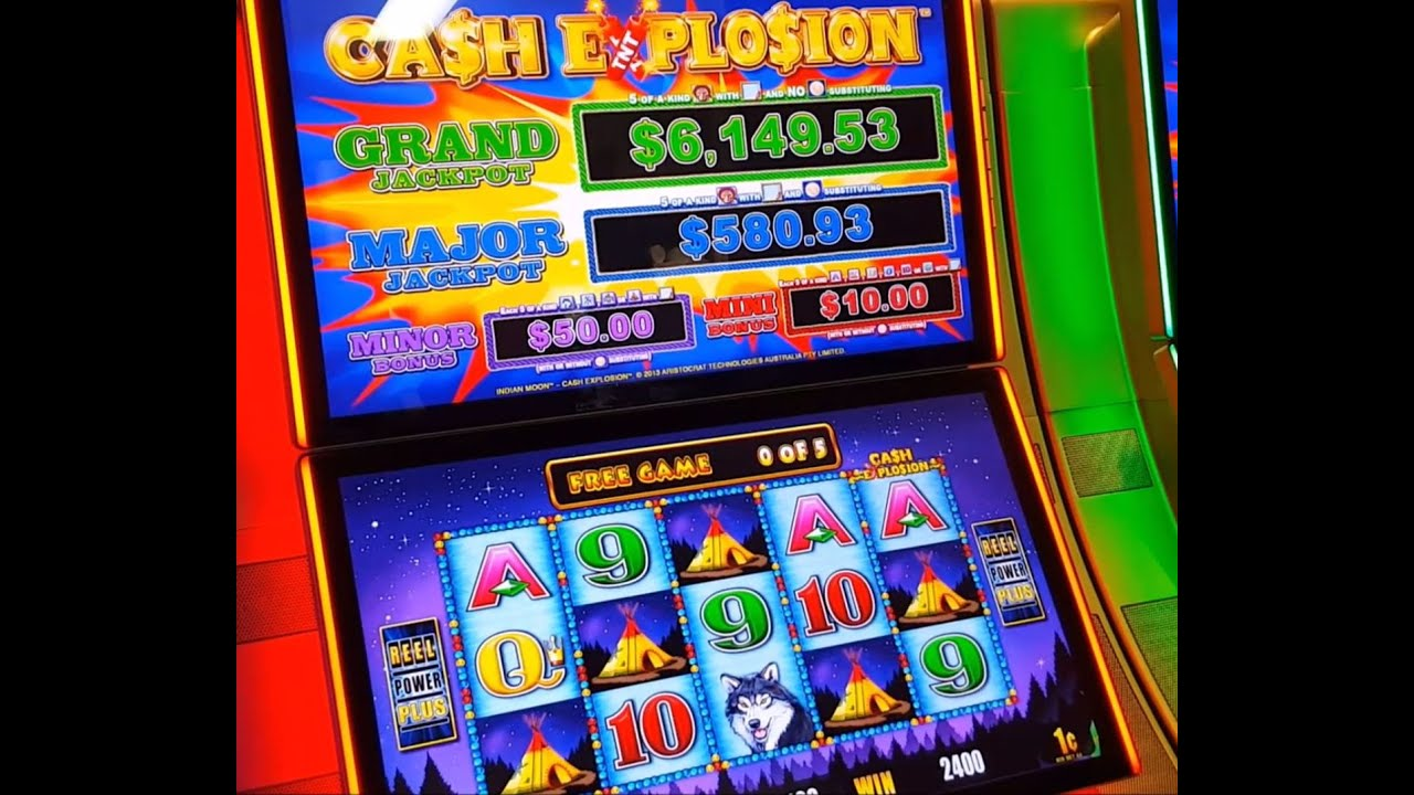 Cash explosion slot machine jackpots