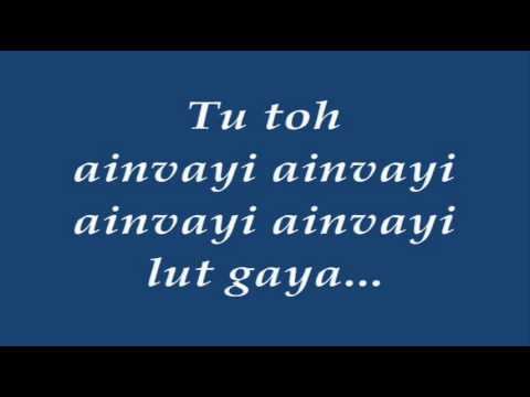 Ainvayi Ainvayi song with lyrics.wmv