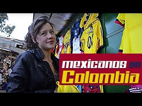 Mexicanos en Bogotá, Colombia