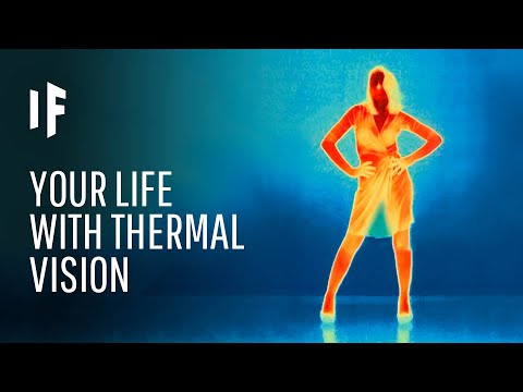 What If We Had Thermal Vision?