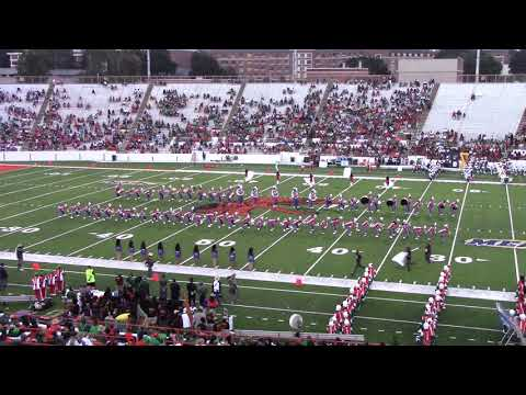 1. Savannah St. U. Marching Band vs FAMU - Halftime 1 - 09/22/18
