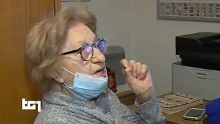 Insegnare l'esperanto su internet a 94 anni, Norma Cescotti al TG1