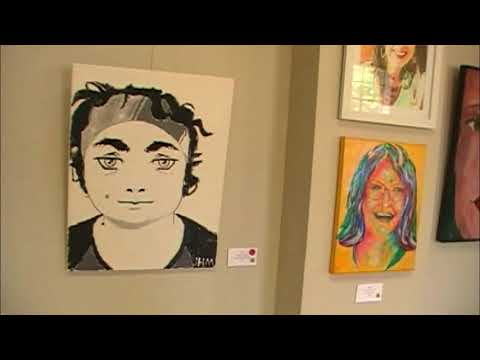 Human Beings & Being Human Art Gallery At Bossier Arts Council | The ZAK Vlog