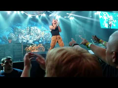 Wasted Years | Iron Maiden Live @ Talking Stick Resort Arena, Phoenix, AZ (06/28/17)