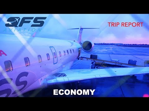 TRIP REPORT | Air Canada Express - CRJ 200 - Ottawa (YOW) To Newark (EWR) | Economy